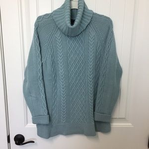 Talbots Teal Knit Sweater